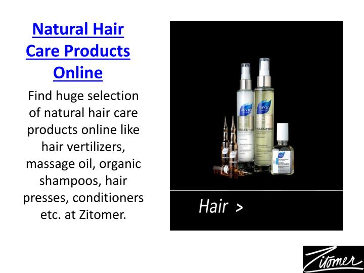 Natural Hair Care Products Online