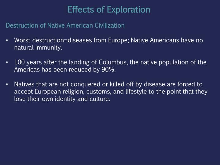 european colonization of america that robbed the indians of their land identity and culture Identity in american indian communities has continually been a subject of  contentious  and others of their indian identity, and thus their unique cultural  heritage  europeans not only expropriated land and resources, but also indian  identity  english colonization biophysically defined and manufactured.