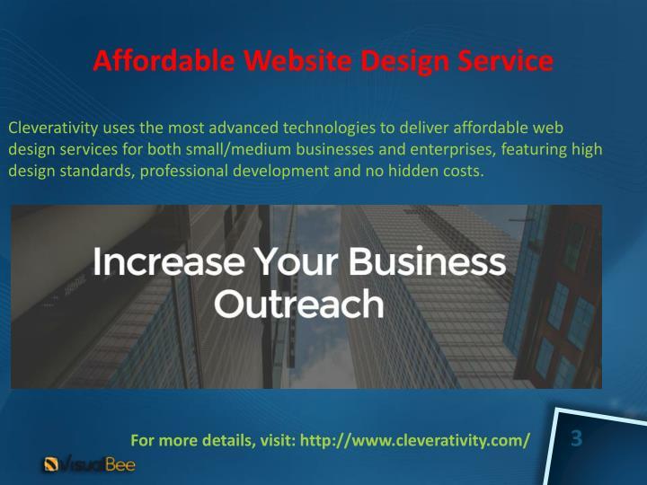 AffordableWebsite DesignService