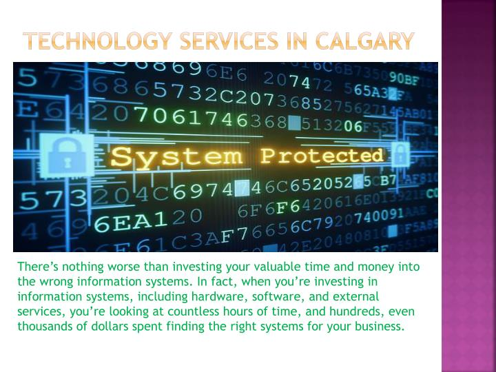 Technology services in calgary