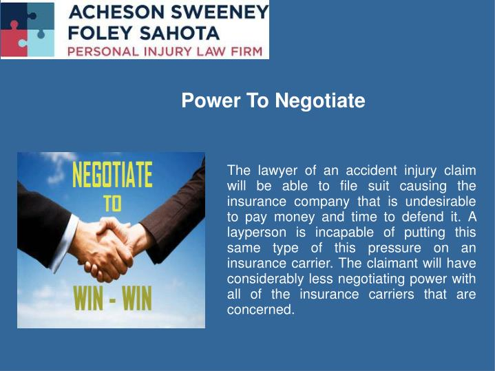 Power To Negotiate