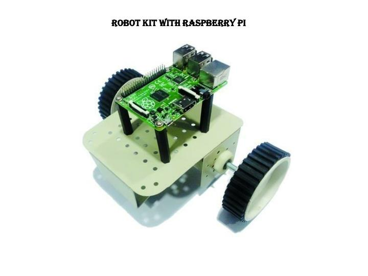 Robot kit with Raspberry pi