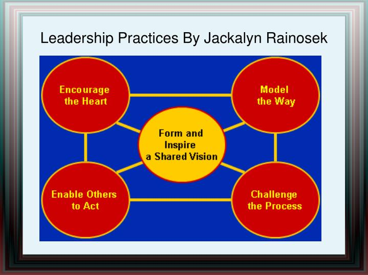 Leadership Practices By Jackalyn Rainosek