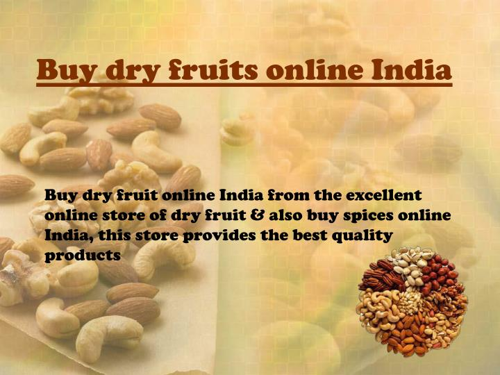 Buy dry fruits online India