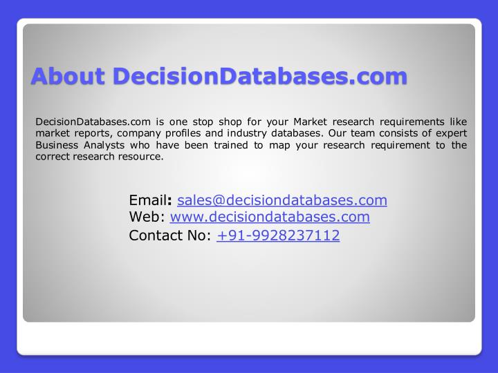 About DecisionDatabases.com