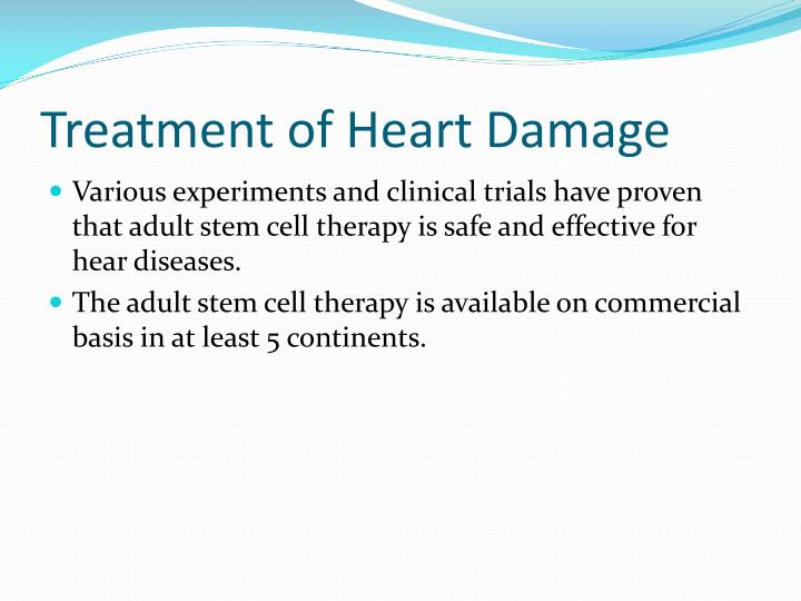 Treatment of Heart Damage