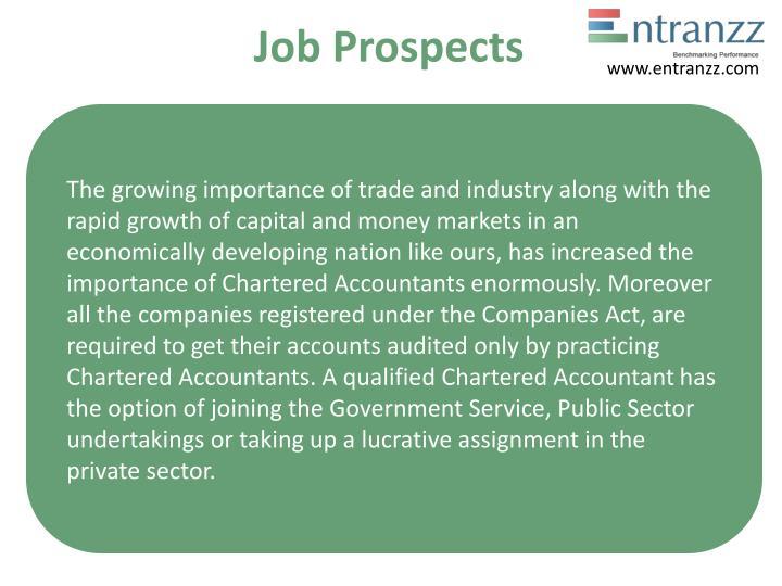 Job Prospects