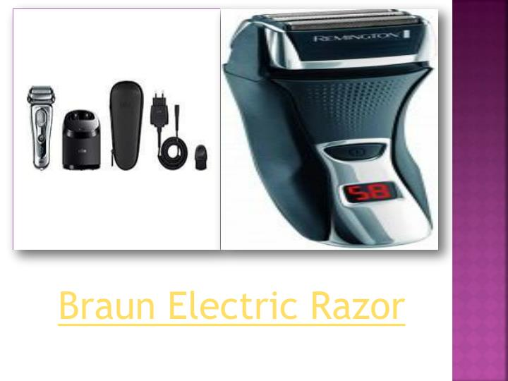 Braun Electric Razor