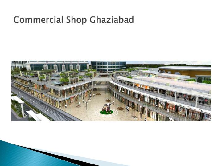 Commercial shop ghaziabad