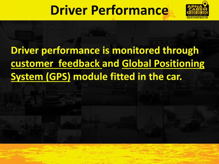 Driver Performance