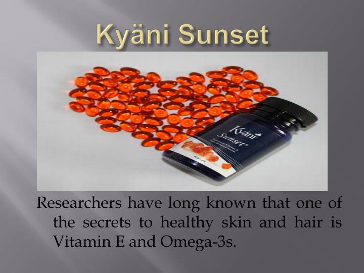 Kyäni Sunset