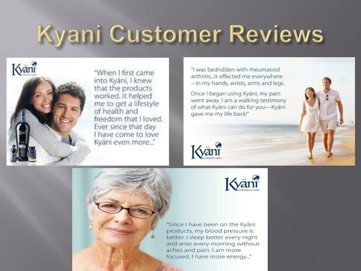 Kyani Customer Reviews