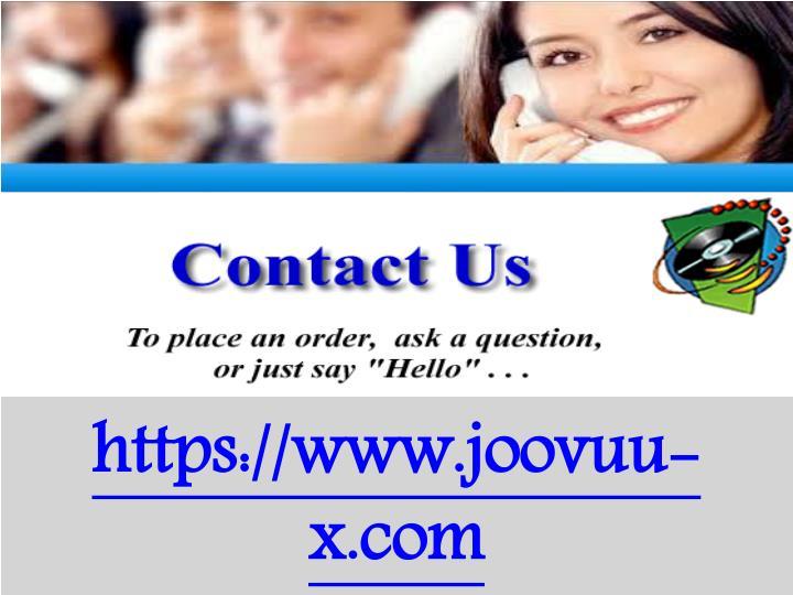 https://www.joovuu-x.com