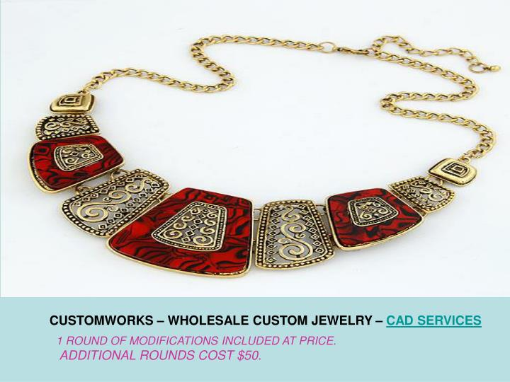 CUSTOMWORKS – WHOLESALE CUSTOM JEWELRY –