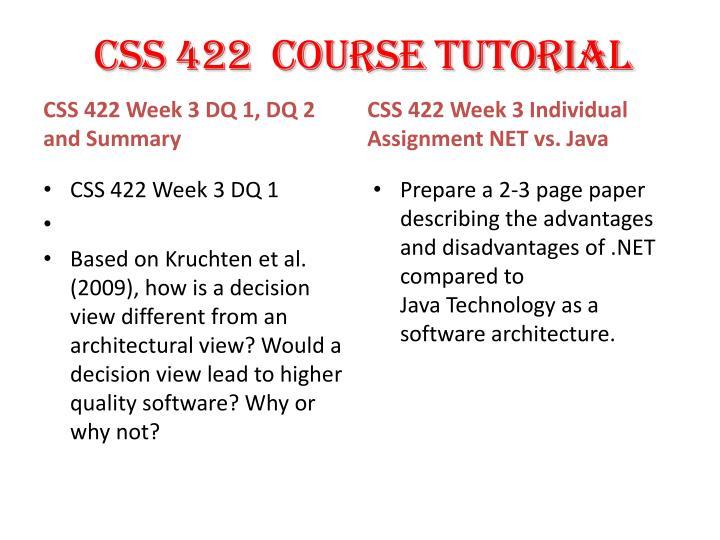 CSS 422