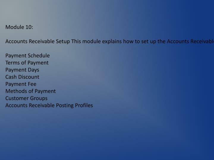 Module 10: