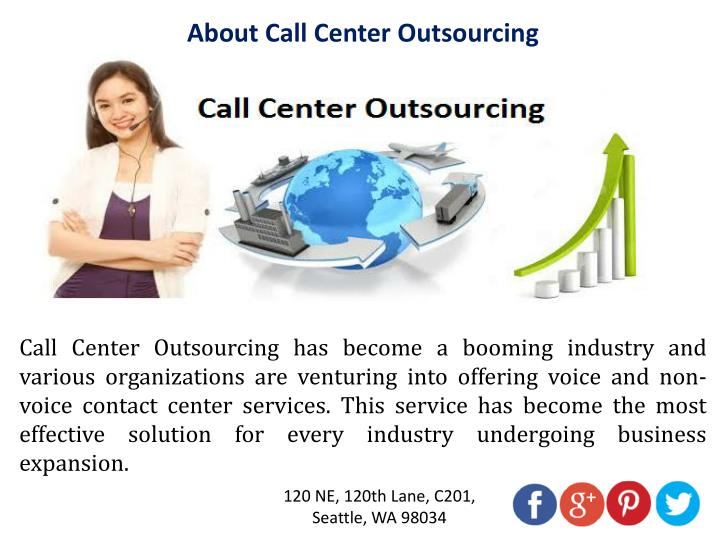 Outsourced Call Center Services : Ppt how call center outsourcing services improve