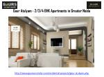 gaur atulyam 2 3 4 bhk apartments in greater noida