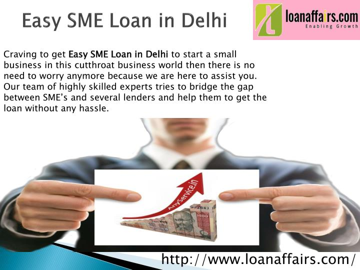 Easy SME Loan in Delhi