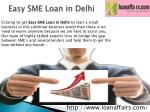 easy sme loan in delhi