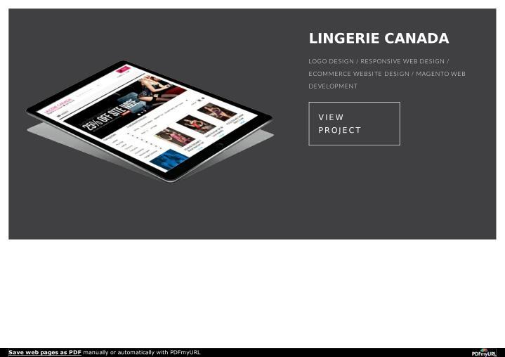 LINGERIE CANADA