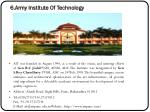 6 army institute of technology