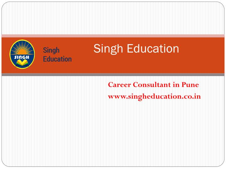 Singh education