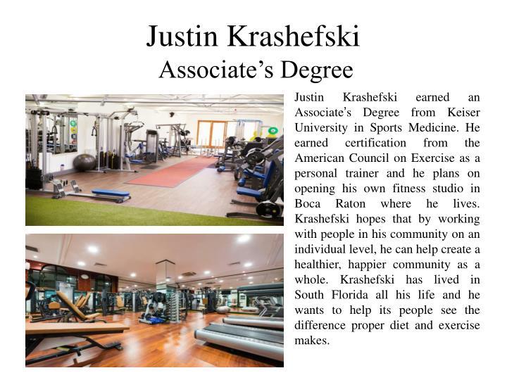 Justin Krashefski
