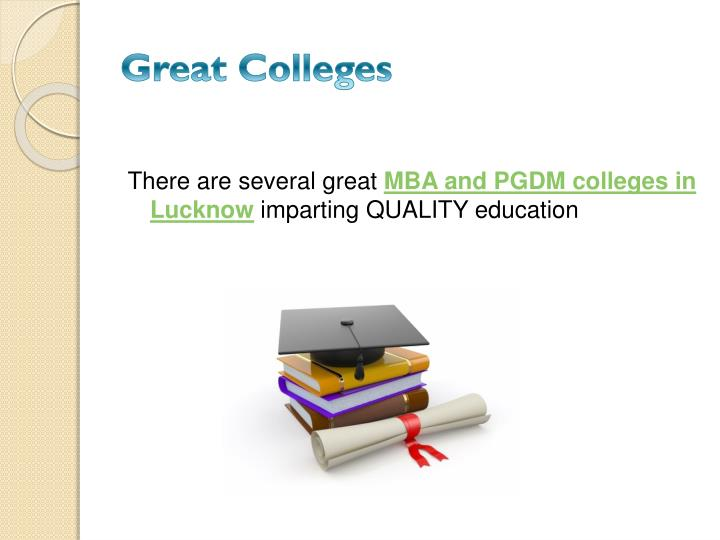 Great Colleges