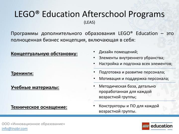 Программы дополнительного образования