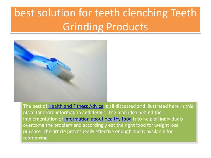 best solution for teeth