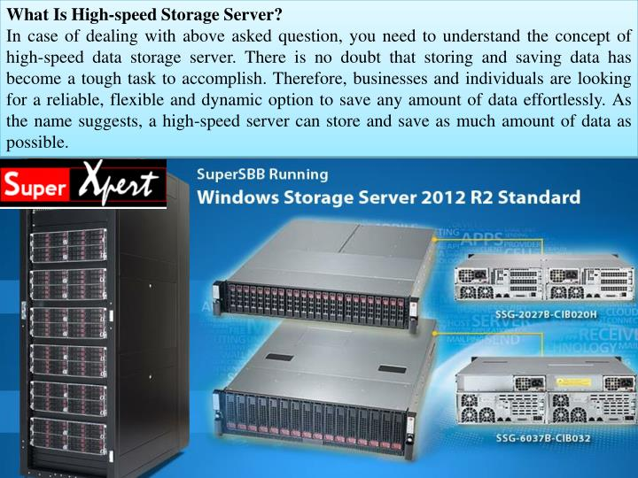 What Is High-speed Storage Server?