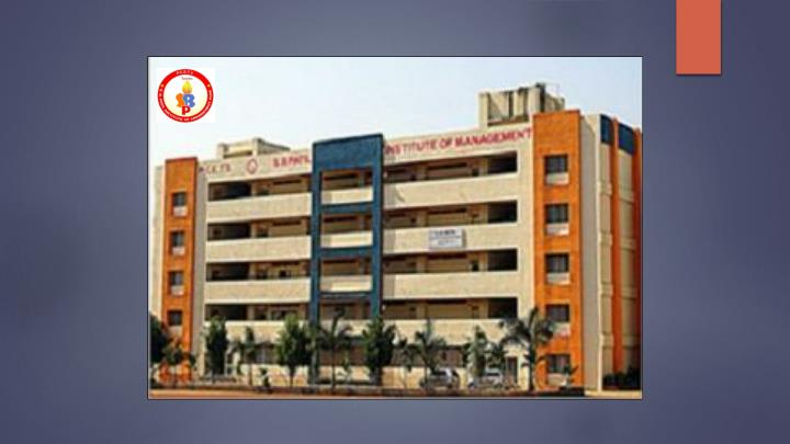 S b patil mba college