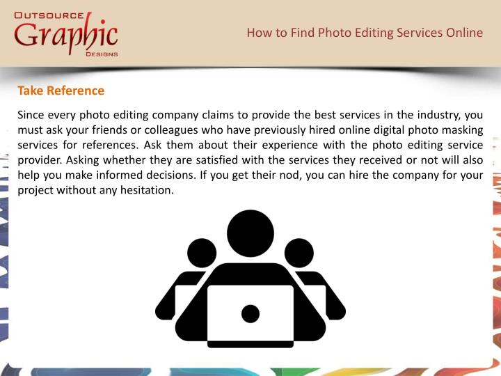 How to Find Photo Editing Services Online