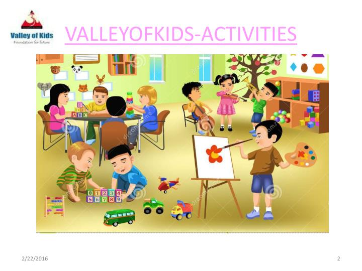 Valleyofkids activities