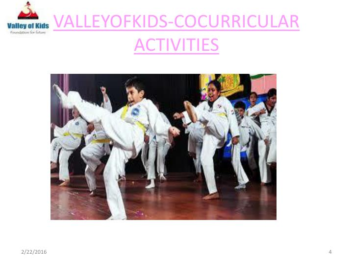 VALLEYOFKIDS-COCURRICULAR ACTIVITIES