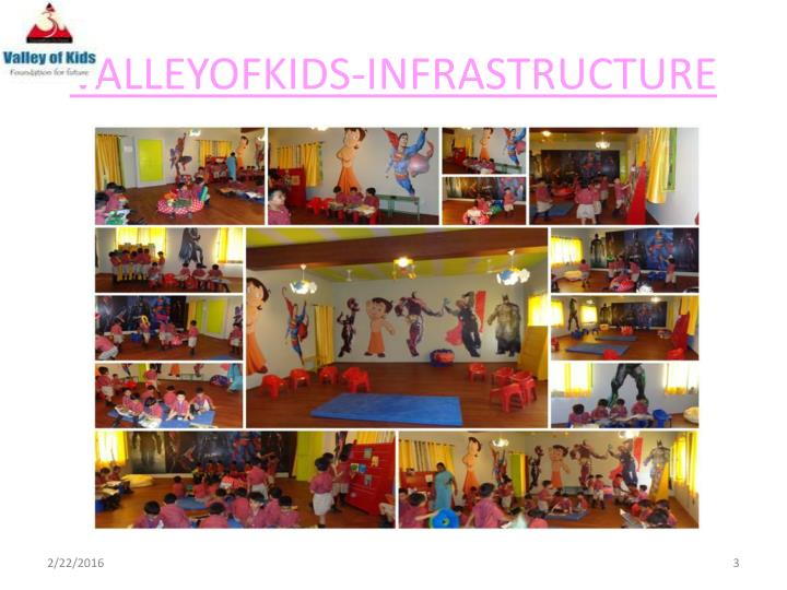 Valleyofkids infrastructure