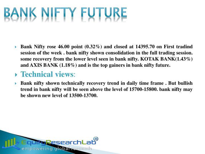 BANK NIFTY FUTURE
