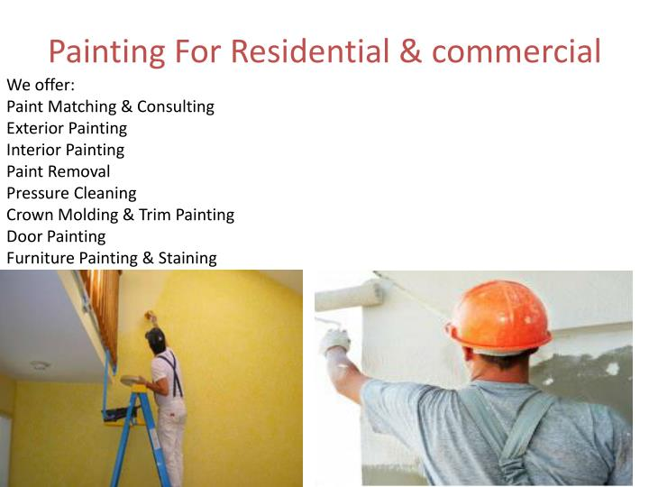 Painting For Residential & commercial