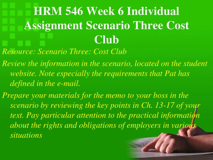 Hrm 546 cost club one