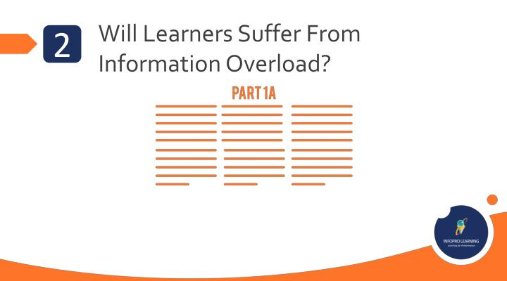 Will Learners Suffer From Information Overload?