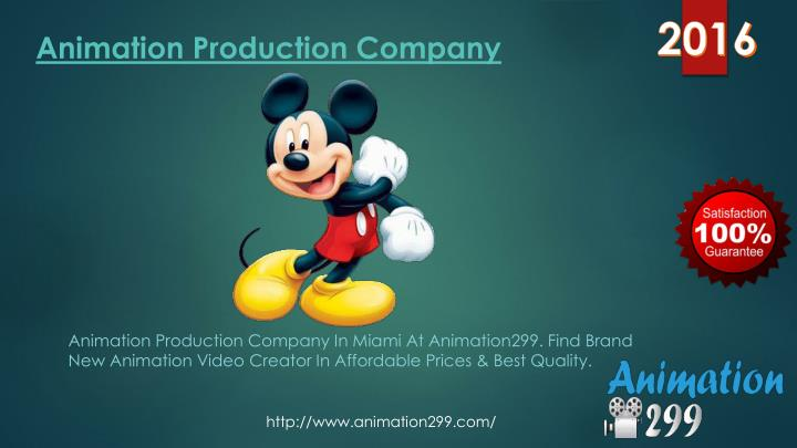 Animation production company