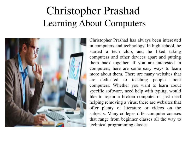 Christopher Prashad