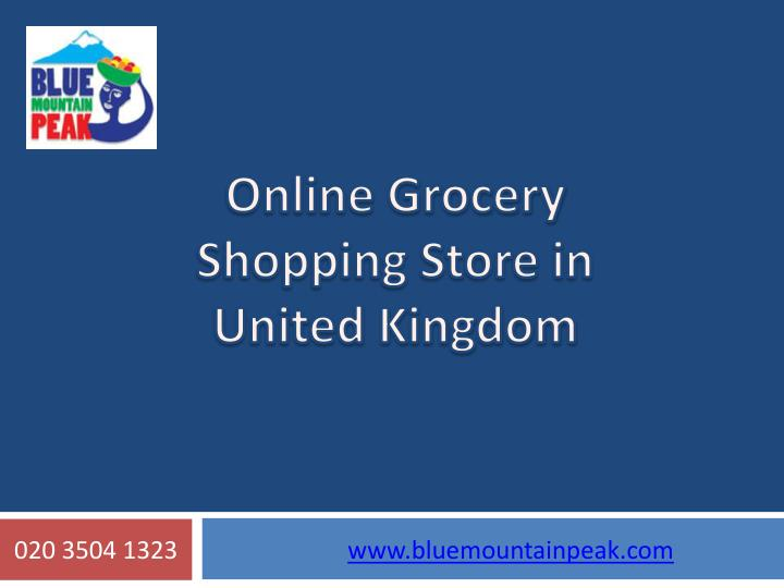 ppt online grocery shopping in india Online retail in india clicking towards growth   backed the india online retail market,  this talks of a flexible and seamless shopping.