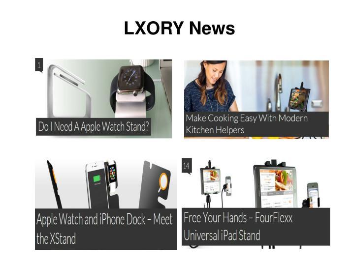 LXORY News