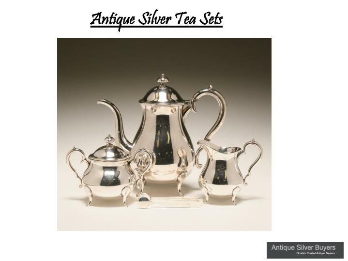 Antique Silver Tea Sets