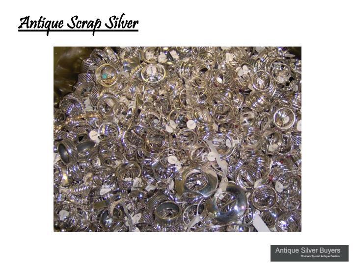Antique Scrap Silver