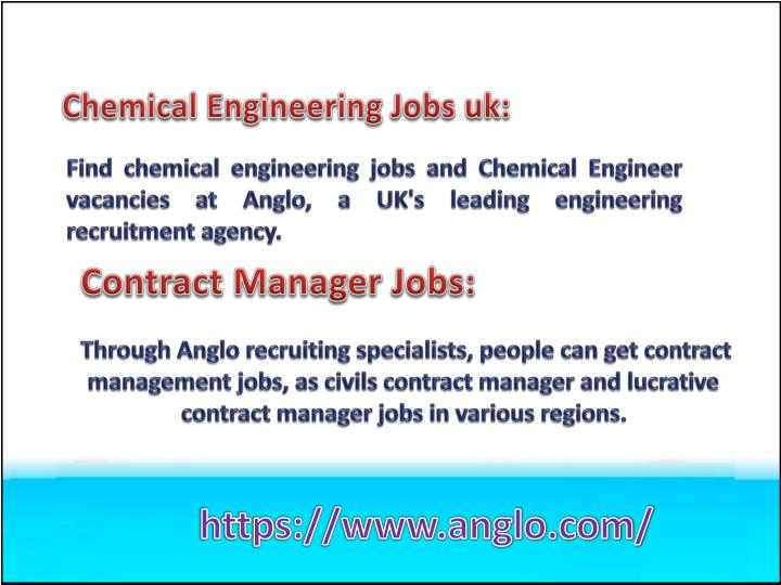 Chemical Engineering Jobs