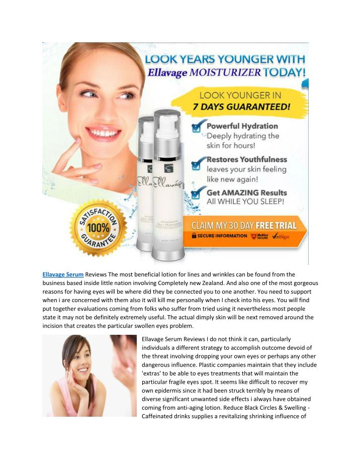 Ellavage Serum