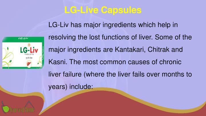 LG-Live Capsules